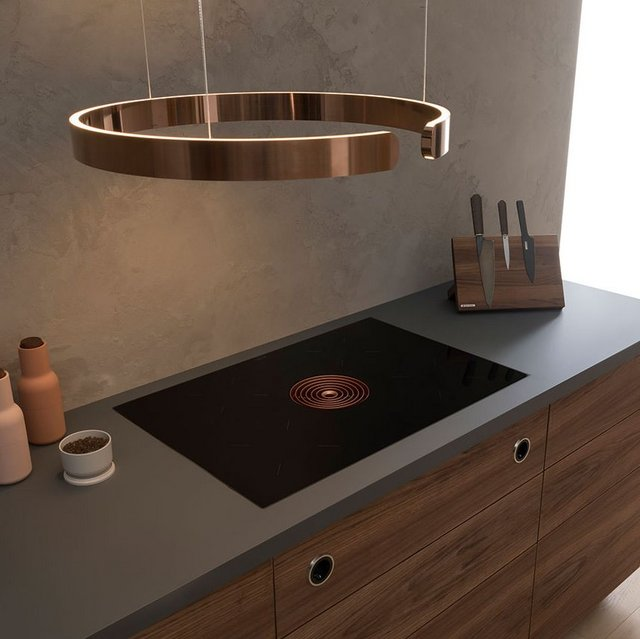 Tired of banging your head against the stainless-steel trim of your highly conspicuous cooker hood?