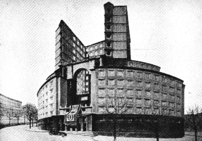 Competition Entry for the Palazzo Delle Corporazioni, Pietro Aschieri Group, 1927