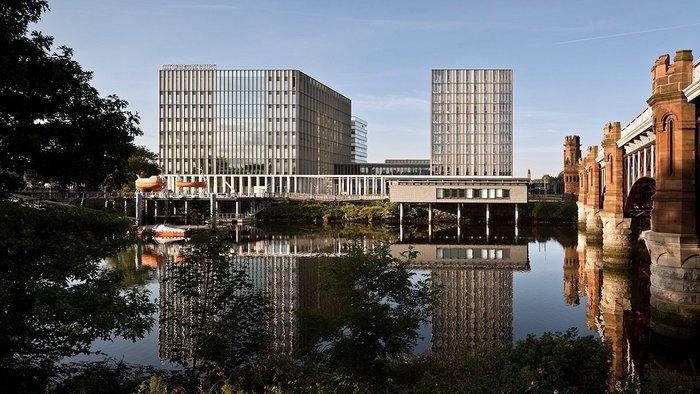 City of Glasgow College, Riverside Campus, Glasgow. Also won an RIAS Award.