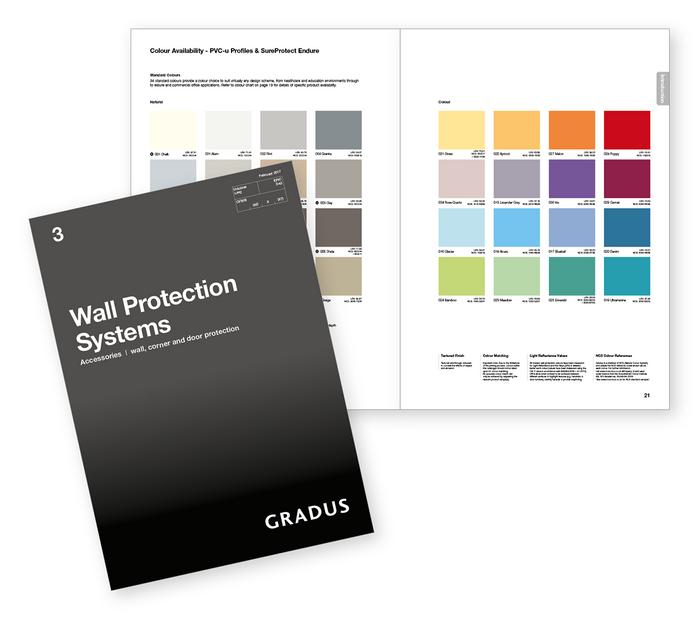 Gradus' new wall protection range.