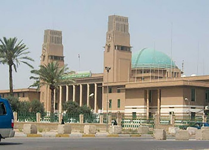 Baghdad Railway Station as built.