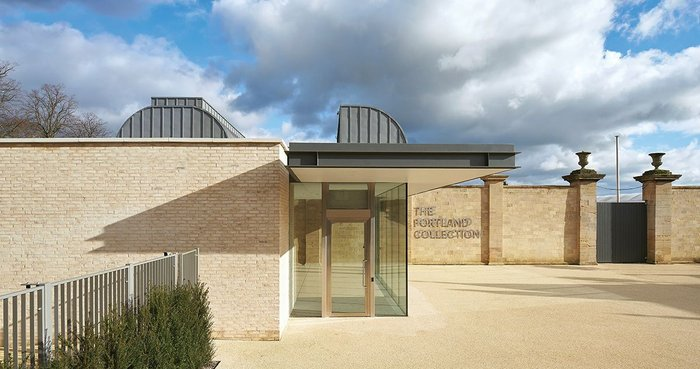 Hugh Broughton's new gallery for the Portland Collection at Welbeck