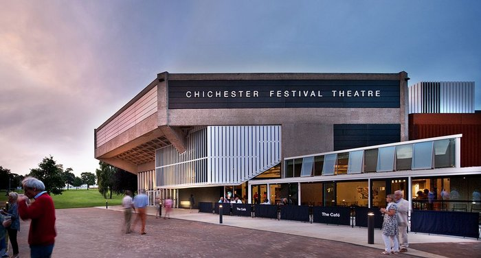 Chichester Festival Theatre, West Sussex – Haworth Tompkins. Click on the image