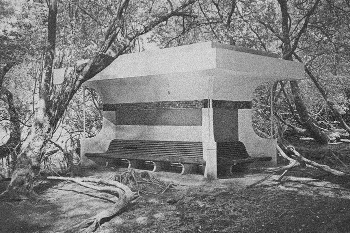 Pavilion of the Shelter of the  Furnace Workers, Darwell.