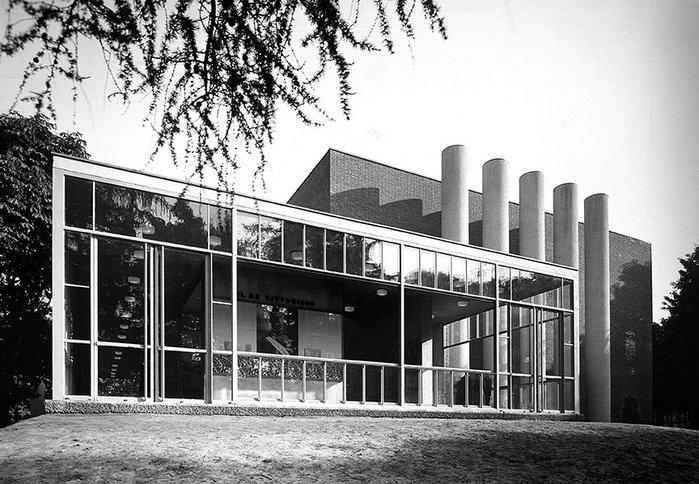 Padiglione della Stampa, Milan Triennale 1933