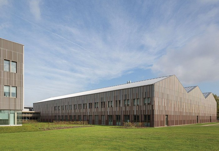 The Welding Institute by Eric Parry Architects.