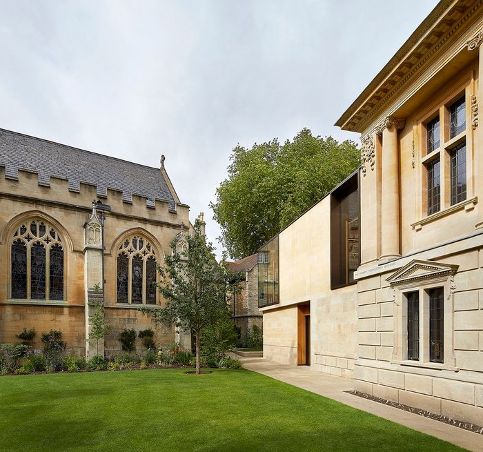 The Berrow Foundation Building and New Garden Building. by Stanton Williams and Rodney Melville & Partners.