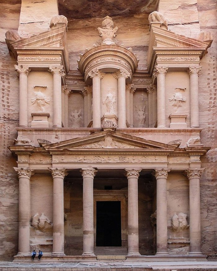 The Treasury, Petra 1st century AD