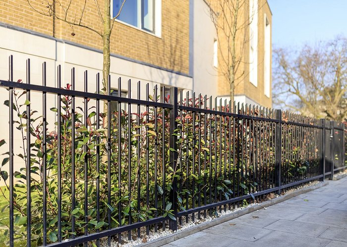 Jacksons' fencing has been installed at Ashchurch Villas in Hammersmith, London