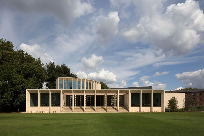 The Sultan Nazrin Shah Centre at Worcester College, Oxford.