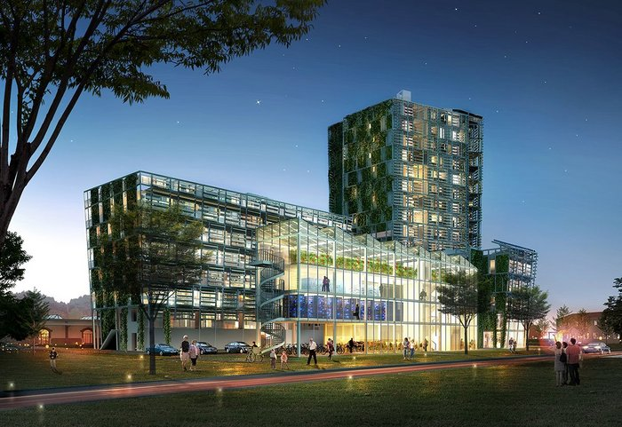 Construction of the Smart Green Tower is due to begin this spring/summer.