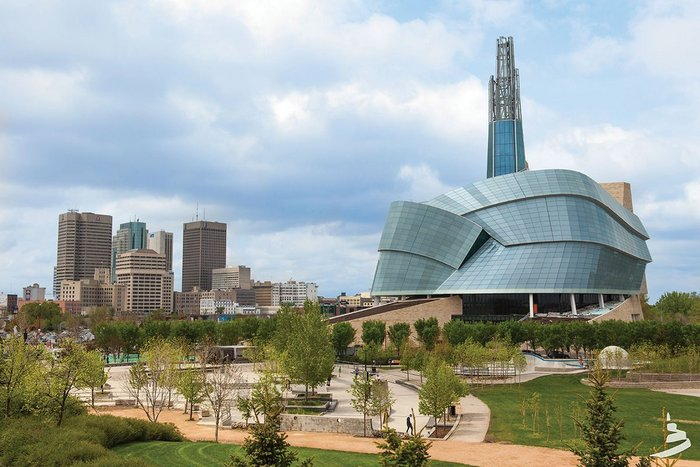 Controversial but now a landmark for Winnipeg, Predock's museum is like no other.