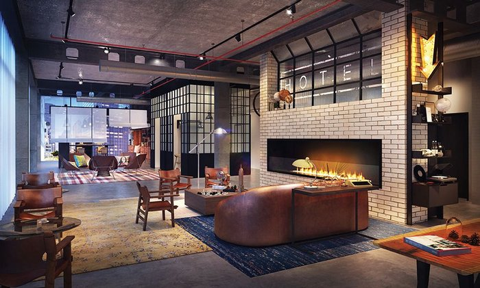 Marriott's Moxy brand, targeting younger travellers, is a new offering to the UK market.