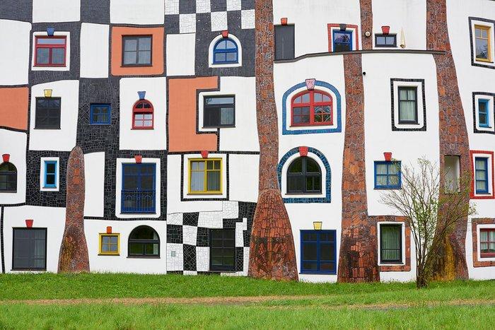Rogner Spa, Blumau, Styria, 1993–97, designed by Friedensreich Hundertwasser.