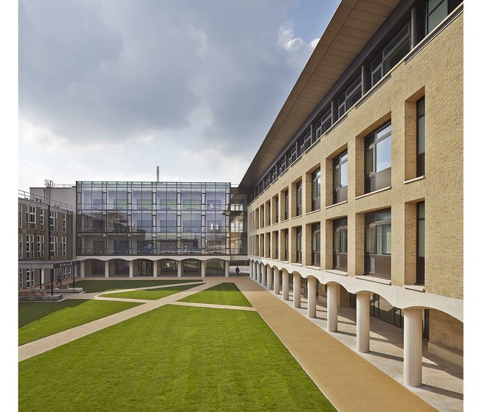St Paul's School science building. Click on the image.