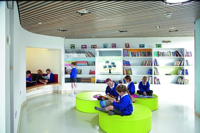 Jesmond Gardens Primary School, Hartlepool, Cleveland by ADP for Hartlepool Borough Council.