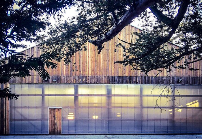 Westonbirt Tree Management Centre by Invisible Studio.