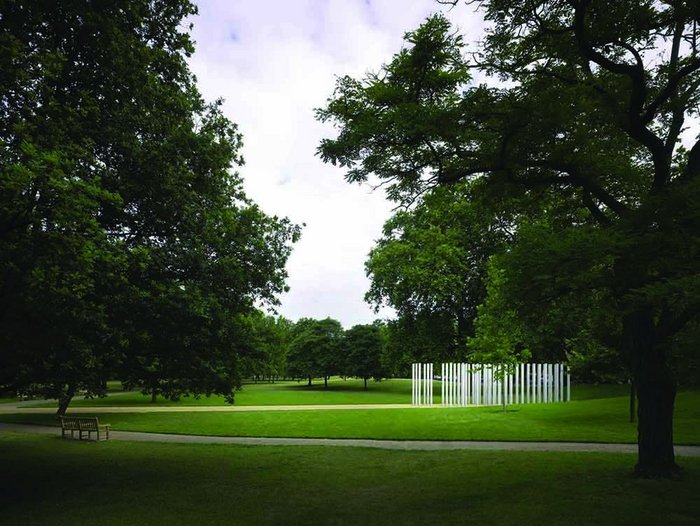 7th July Memorial in Hyde Park was a serious and potentially risky early project for the practice, being so high profile and fraught with meaning and emotion.