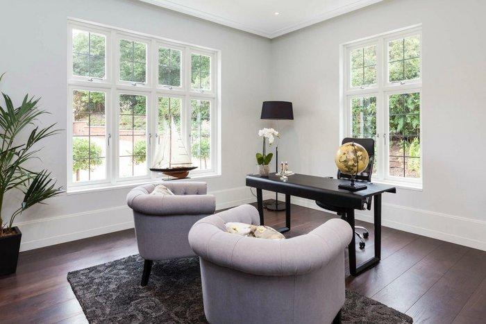 Specialist timber double glazed windows by Lomax + Wood.