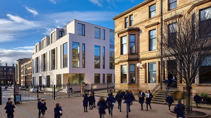 Saunders Centre, Science & Technology Building, Glasgow. Also won an RIAS Award.