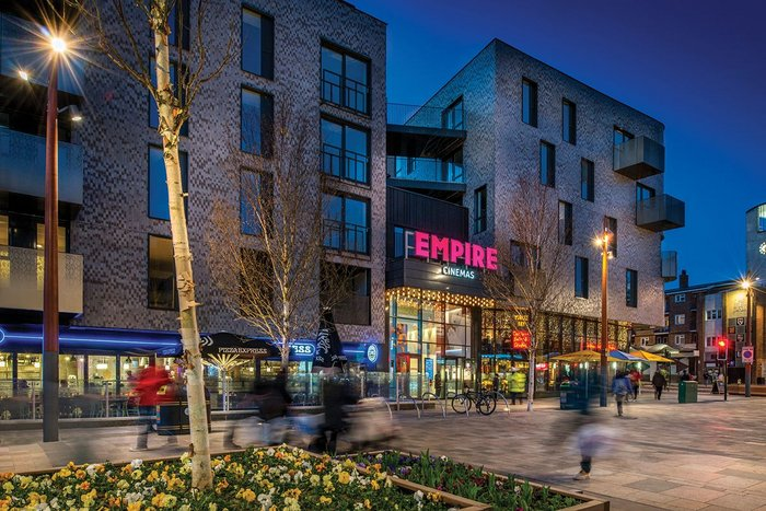 PTE Architects' The Scene in Walthamstow, combining mixed-use residential with an anchor cinema, helps reverse the recent trend for out-of-centre leisure.