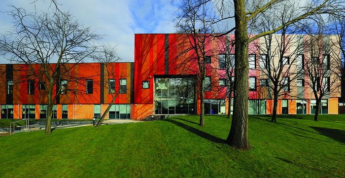dRMM's RIBA award-winning St Alban's Academy in Birmingham – one of the last schools to be procured under New Labour's BSF programme.