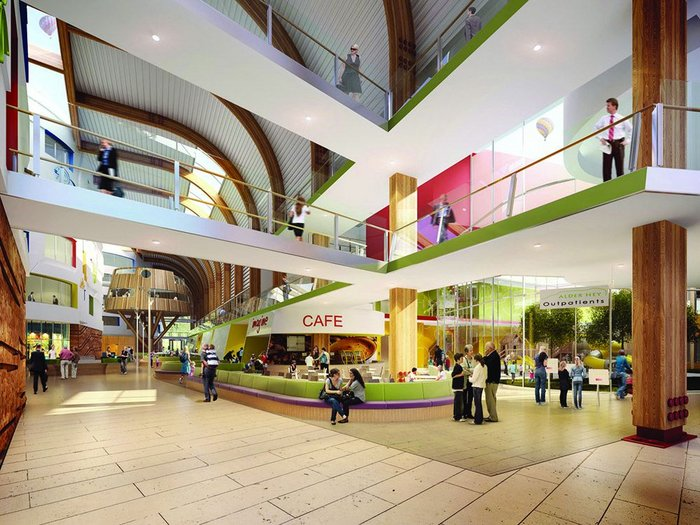 One building, three offices. Designing the £288m Alder Hey Children's Health Park in BDP's Manchester, London and Sheffield offices means that specialists in each can focus on different areas.