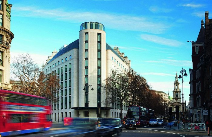 West elevation of the ME Hotel in London's Aldwych