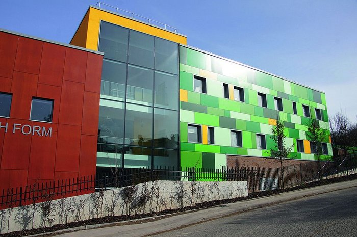 Schools remain the mainstay of the Capita Symonds architecture team's work in Southampton. A new sixth form at Bitterne School was recently completed.