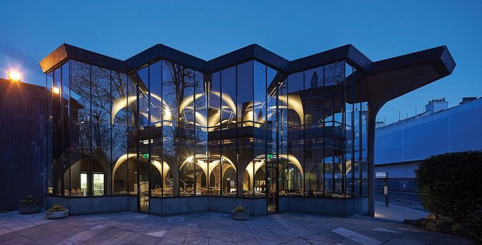 York Theatre Royal extension, York,  by de Matos Ryan Architects.