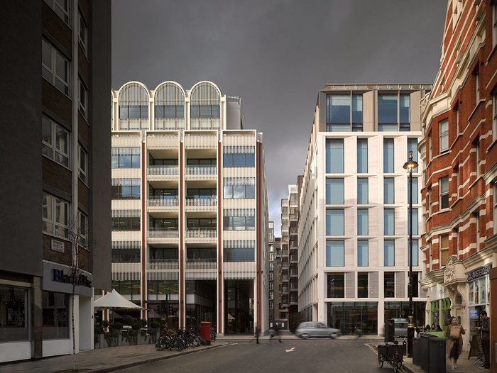 Fitzroy Place: creating a new depth of facade, city and experience in London's West End.