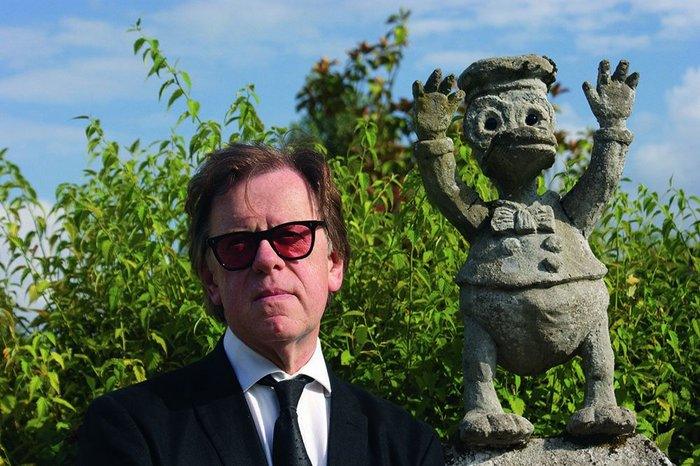 High brow, low culture: Meades (left) and chum.