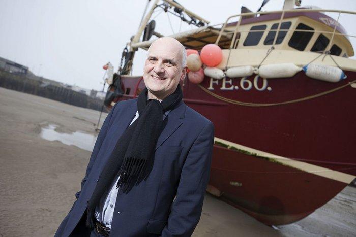 Folkestone Triennial curator Lewis Biggs.
