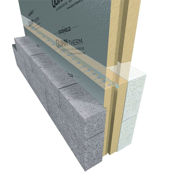 Cavity Wall Insulation Materials : Full fill cavity insulation ribaj