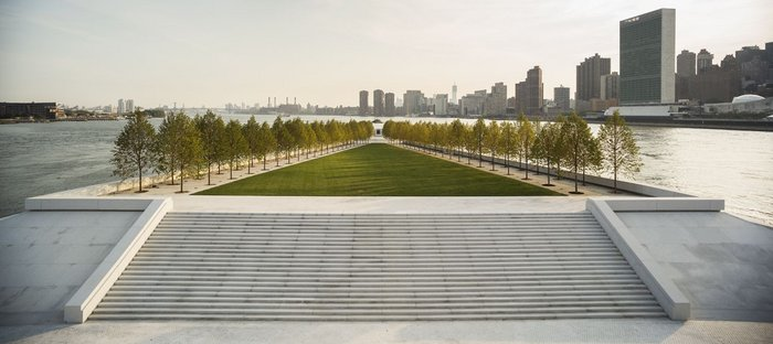 Franklin D. Roosevelt Four Freedoms Park, New York, 1973-2012.