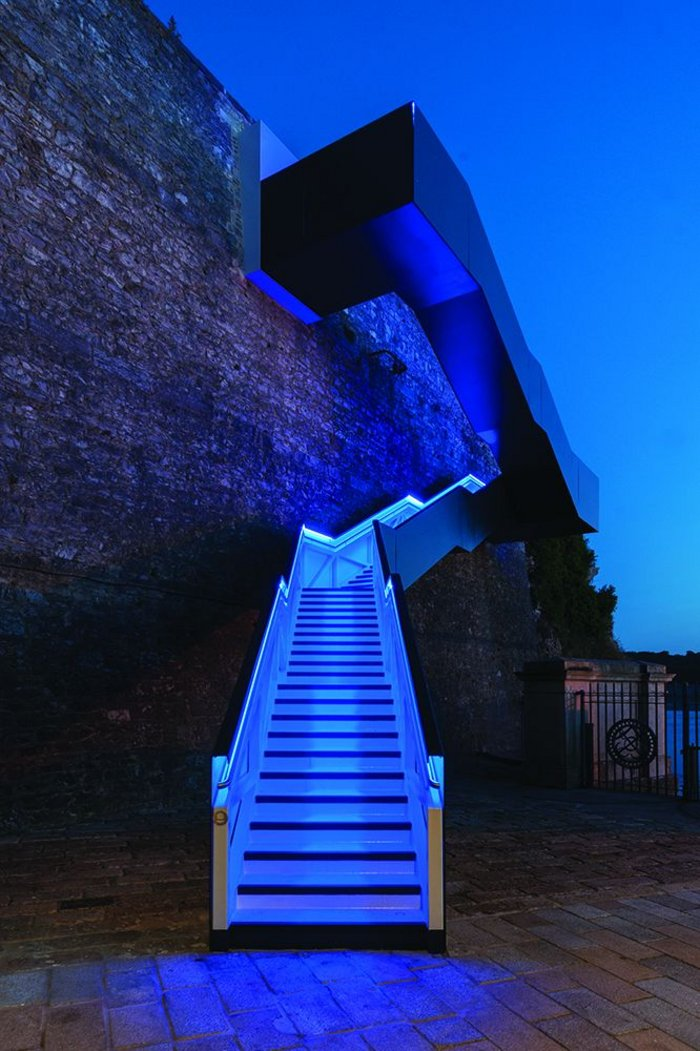 Royal William Yard Staircase, Plymouth