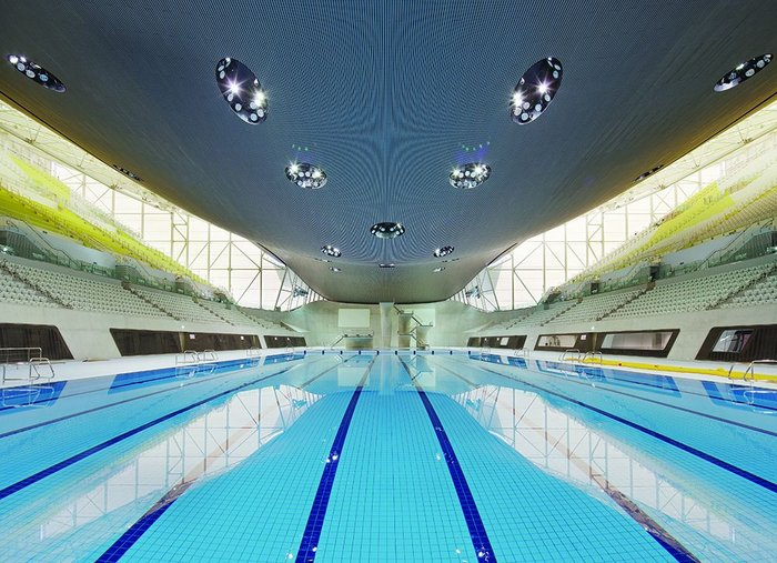 Aquatic Centre in Games mode.