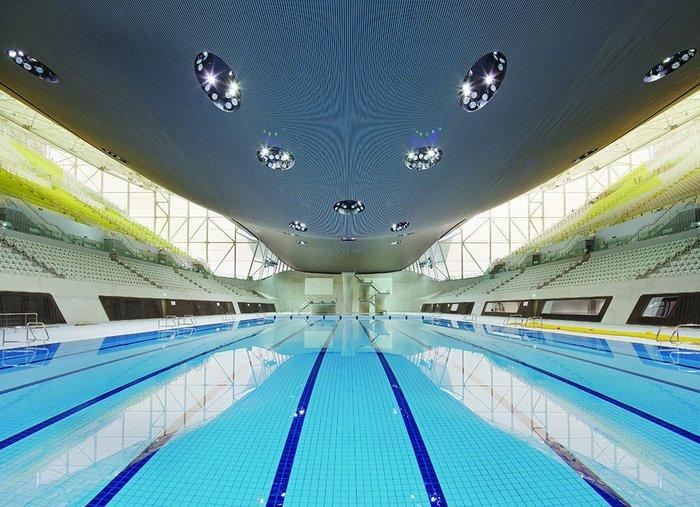 Aquatic Centre in Games mode.