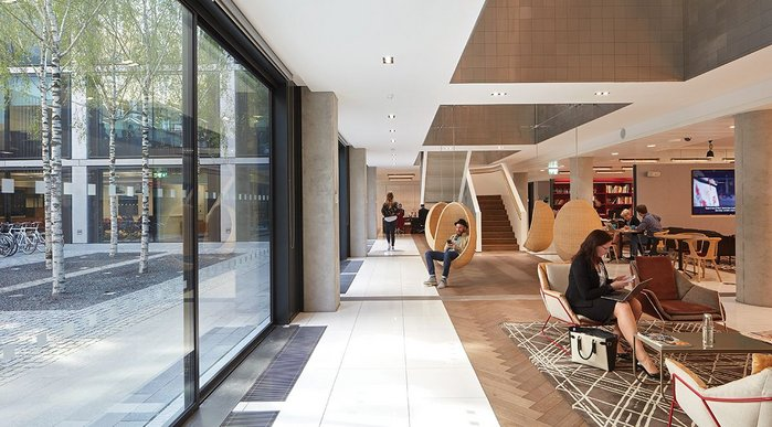 Bennetts Associates' 40 Chancery Lane brings creative work space to London's legal services centre.