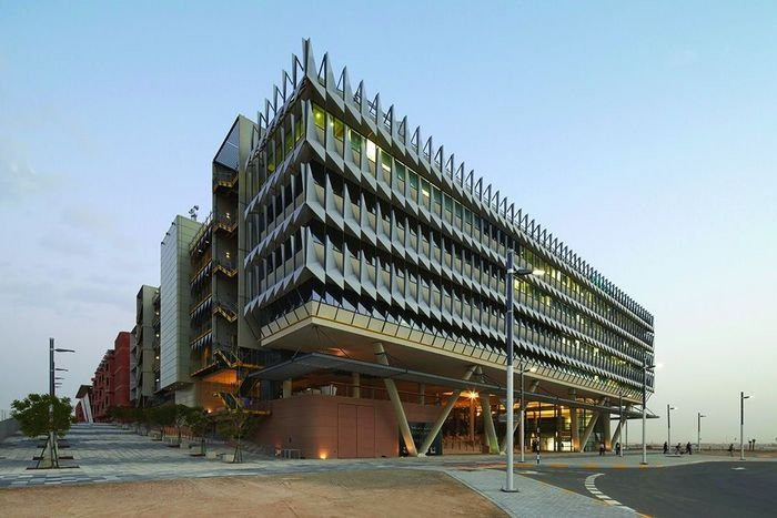 Investing for profile and to stretch themselves on an ambitious brief: Siemens' Masdar City headquarters.