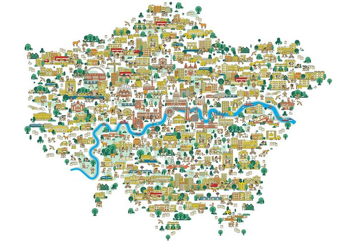London: a map of opportunity areas
