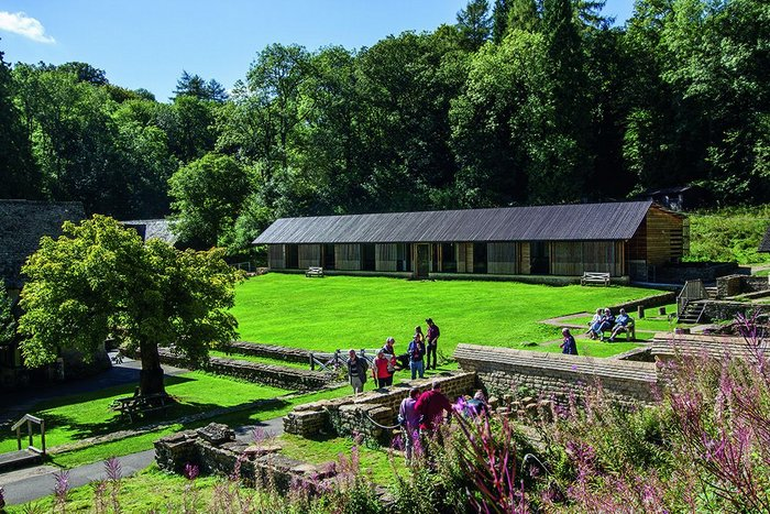 Chedworth Roman Villa, Yanworth, Gloucestershire by Feilden Clegg Bradley Studios for  National Trust.