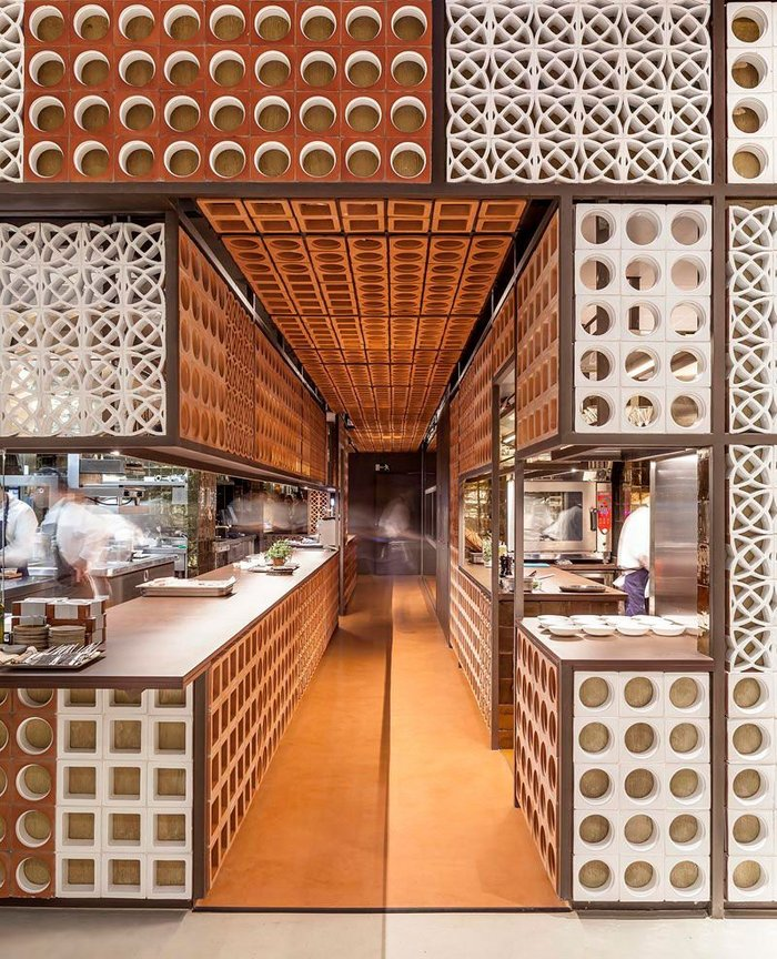 Disfrutar Restaurant by El Equipo Creativo, 2015 Tile of Spain Awards – Special Mention