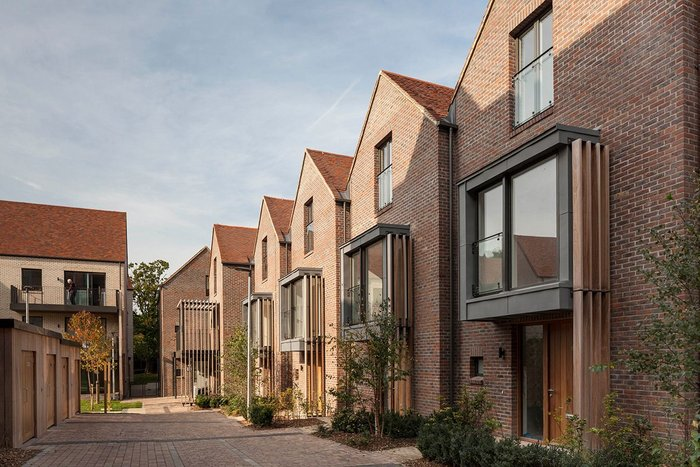 Modern housing design relies on the client as well as the architect as guardian of design quality – as demonstrated at Woodside Square, by Pollard Thomas Edwards.