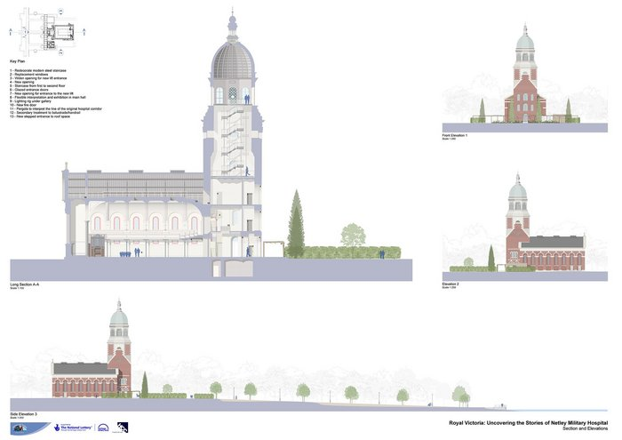 Netley Chapel – click image to view.