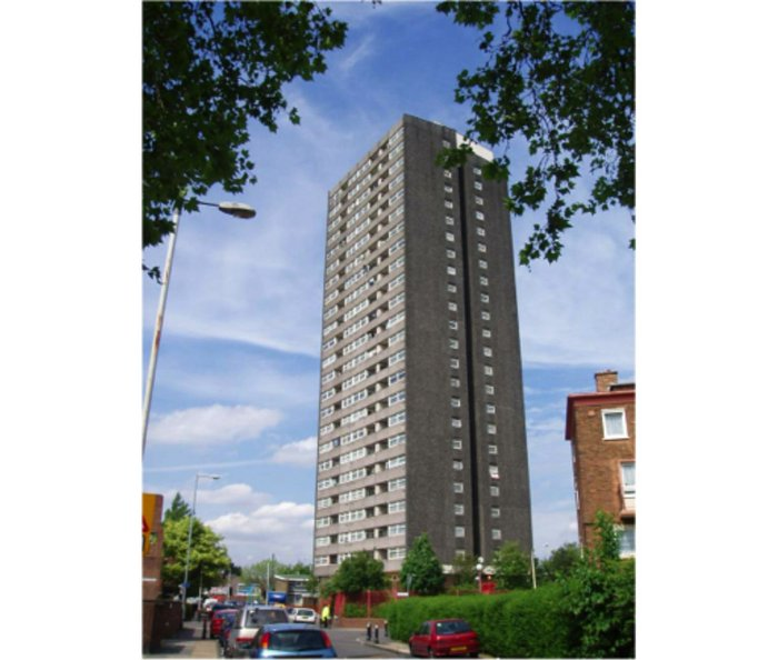 Ferrier point is a 23 storey, 1968 built residential tower in Newham, one of the few of its kind to not have been demolished. Can the need for sustainable retrofit also be an opportunity to enhance the architectural quality of the building?