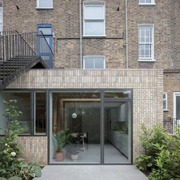 House for a Stationer: The rear extension was extended 1m further than originally planned in a strategic move for end value and borrowing.