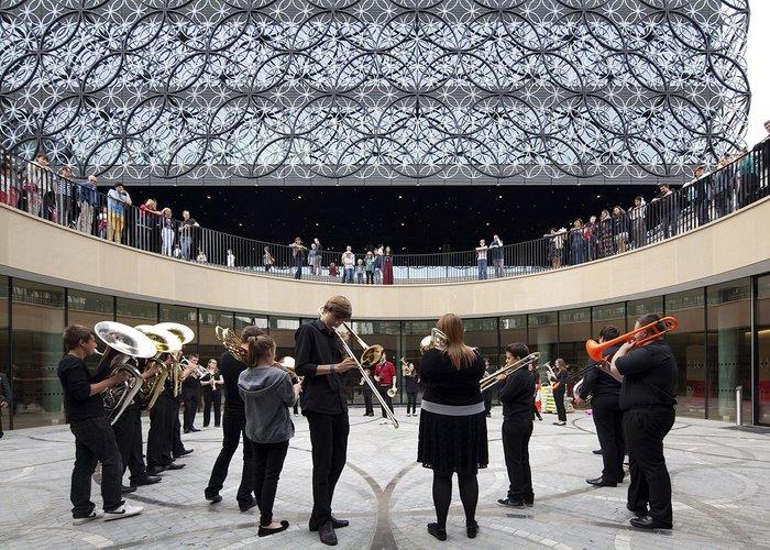 Library of Birmingham, by Mecanoo.