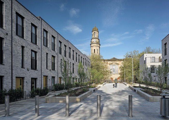 The new St Philip's Square is designed to create a communal centre at Timekeeper's.