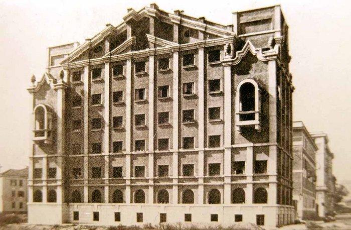 Casa Economica Trionfale V, Circonvallazione Clodia, 1927